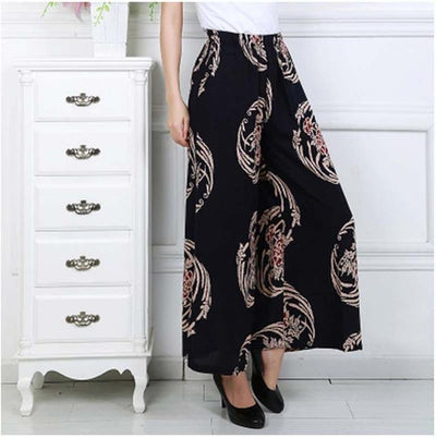 Zuwena Wide Leg Pant, pants muslim dress - OVEILA