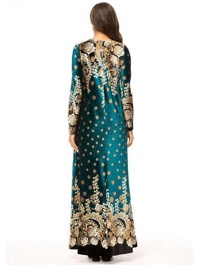 Amreen Dress, Dress muslim dress - OVEILA