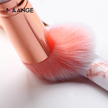 10 Piece Professional Marble Makeup Brush Set