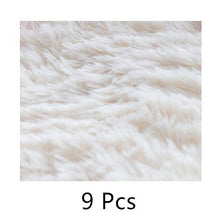 9 Pack DIY Shag Carpet Square