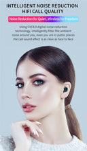 CInematic Bluetooth LED Wireless Earphones With Charging Cradle - Classy Stores Online