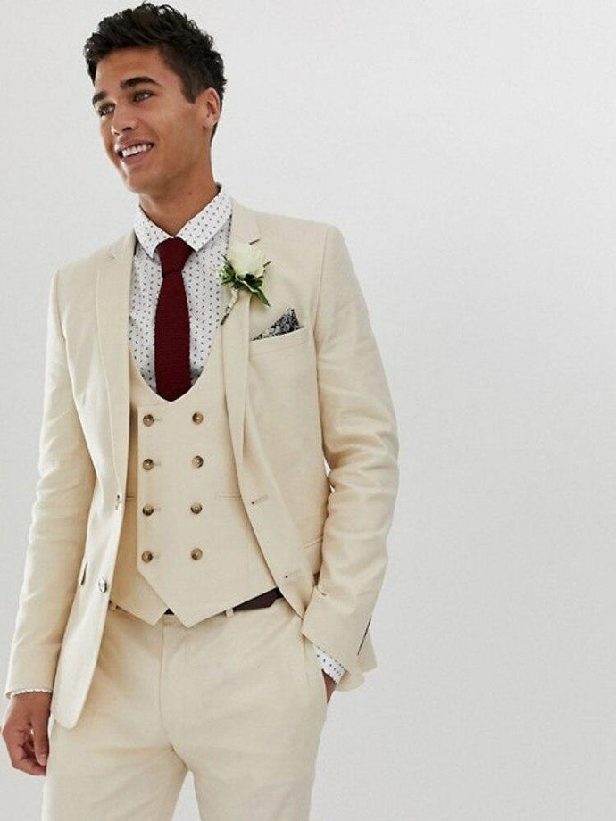 Men's 4 Piece Special Occasion Formal Tuxedo Suit - Classy Stores Online