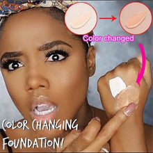 Long Lasting Magic Color Changing Liquid Foundation Concealer