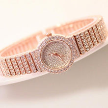 Ladies Small Luxury All Over Bling Wrist Watch