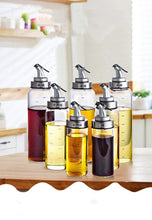 Creative Kitchen Eco-Friendly Graded Glass Bottle Dispensers