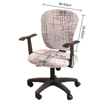 Office Decor Printed Computer Chair Covers