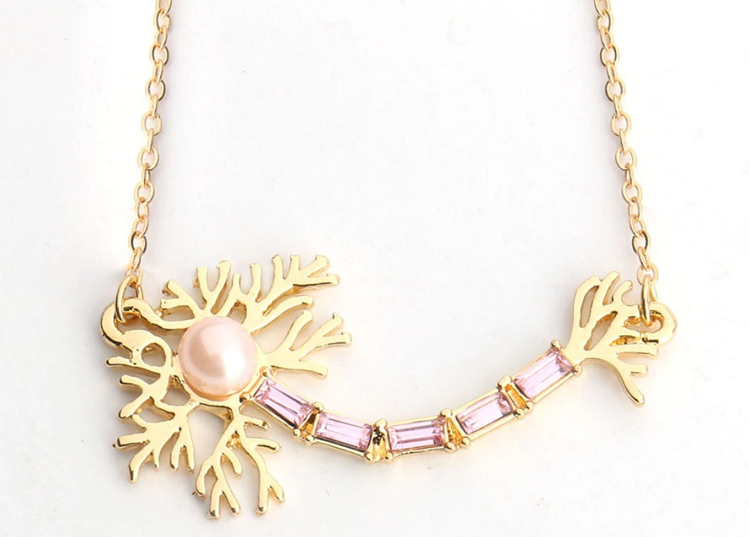 Fancy Neuron Necklace