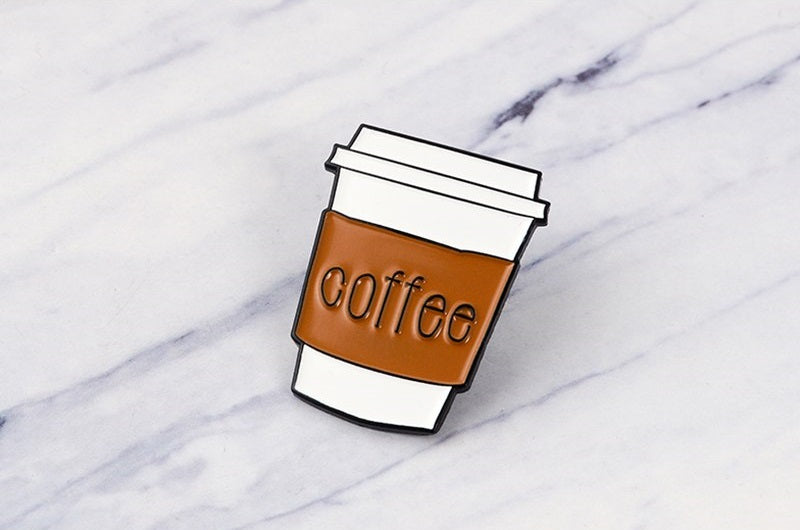 Coffee To Go Pin