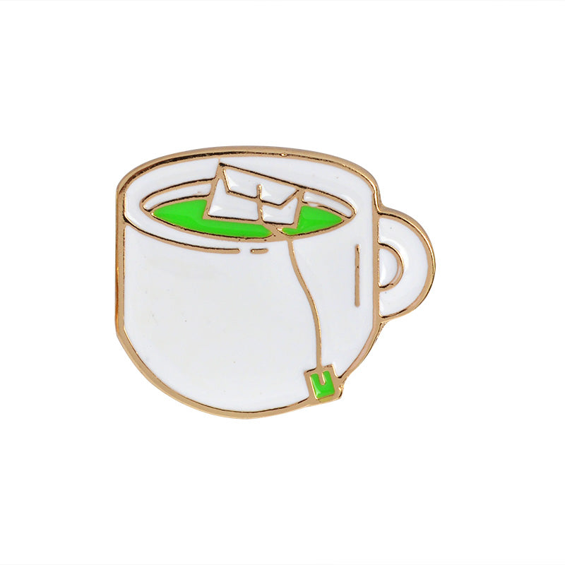 Green Tea Pin