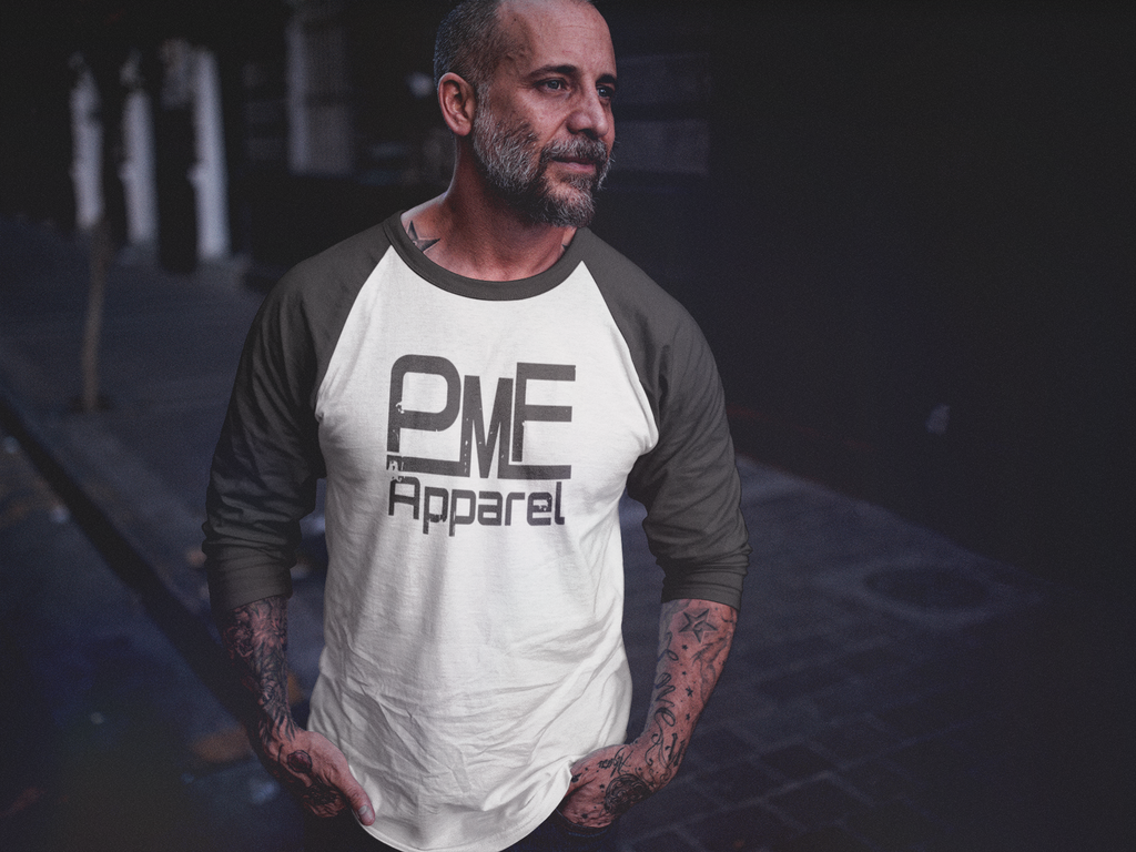 Pump Master Flex, Raglan,  Bodybuilding Apparel, workout clothes, fitness, fitness apparel, gym gear, muscle, gorilla