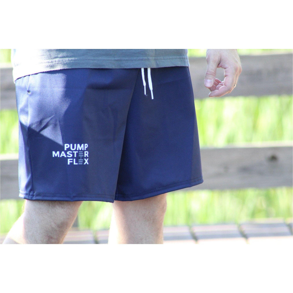 Pump Master Flex Apparel, Bodybuilding, Shorts, exercise Shorts, Weightlifting, Fitness shorts, Fitness, Navy, Dumbbell,polyester,water-repellent microfiber fabric