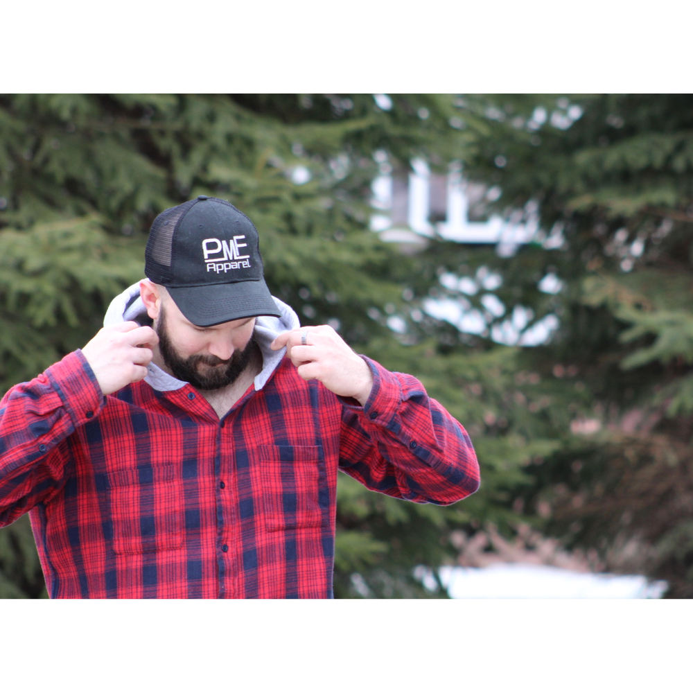 PMF Apparel Trucker Hat (Black)