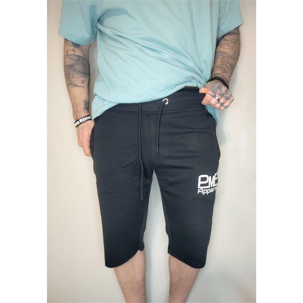 Fitted Athletic Shorts (Black)