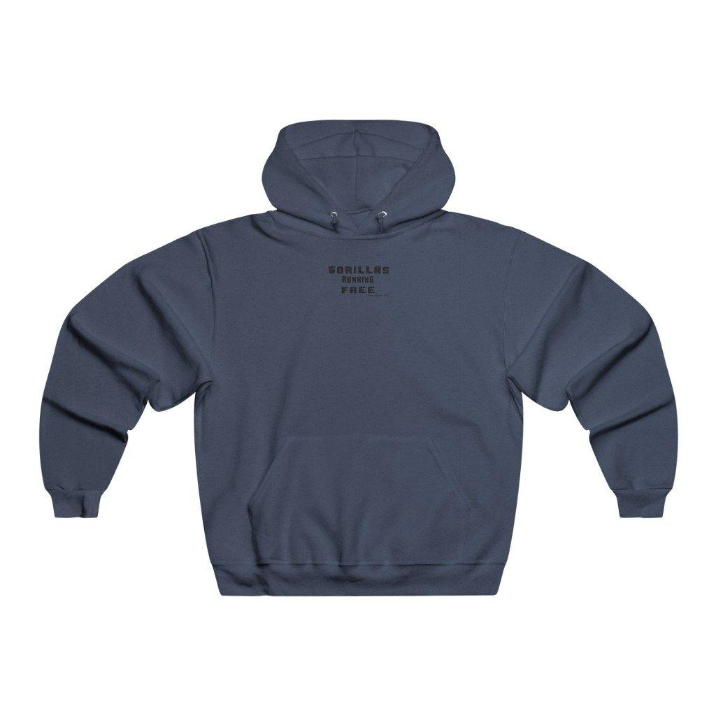 Gorillas Run Free Hooded Sweatshirts