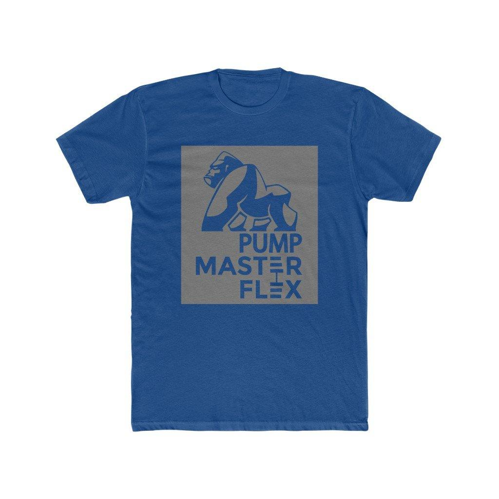 Pump Master Flex Apparel, Dumbells, Gorillas, Muscle, Strong, Gym Shirt, Bodybuilding, Bodybuilder, Stamp Tee, Fitness Clothes.
