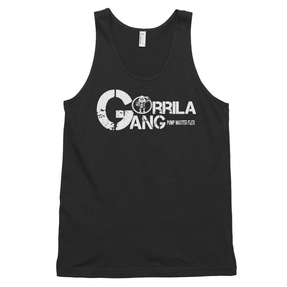 The GORILLA GANG, the only gang that matters, Tank - Classic tank top (unisex) - Pump Master Flex - Black