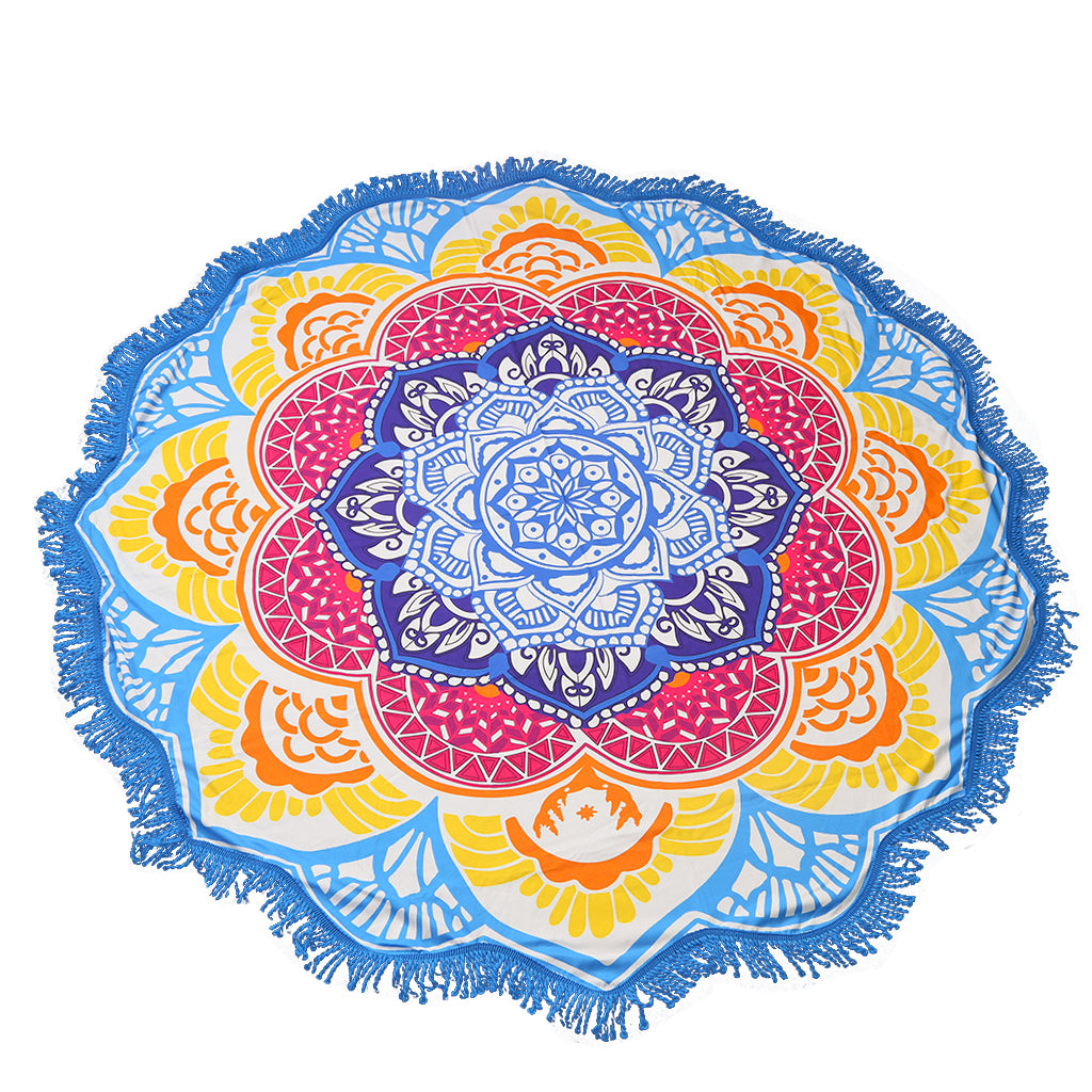 Burst of Sun Tapestry - Bath Towel, Wall Hanging, Yoga Mat