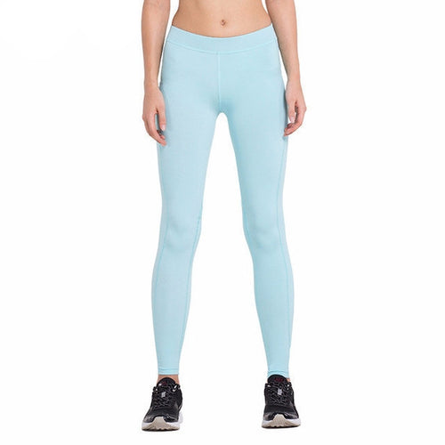 Baby Blue Compression Fitness