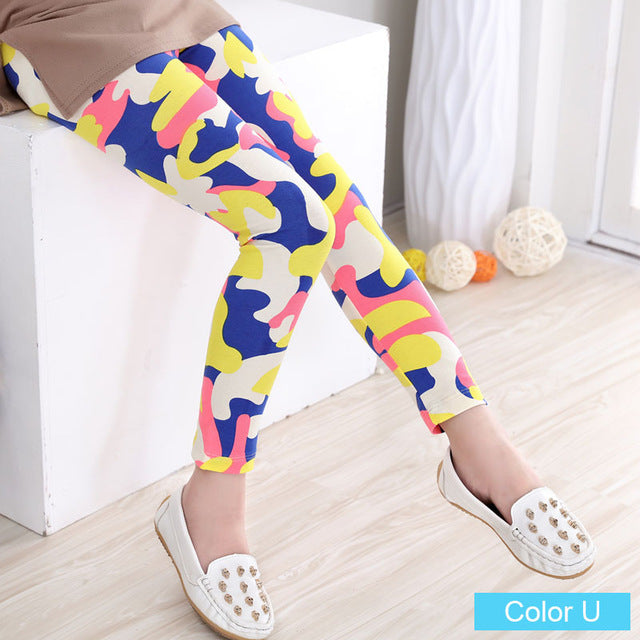 Geometric Girls Leggings