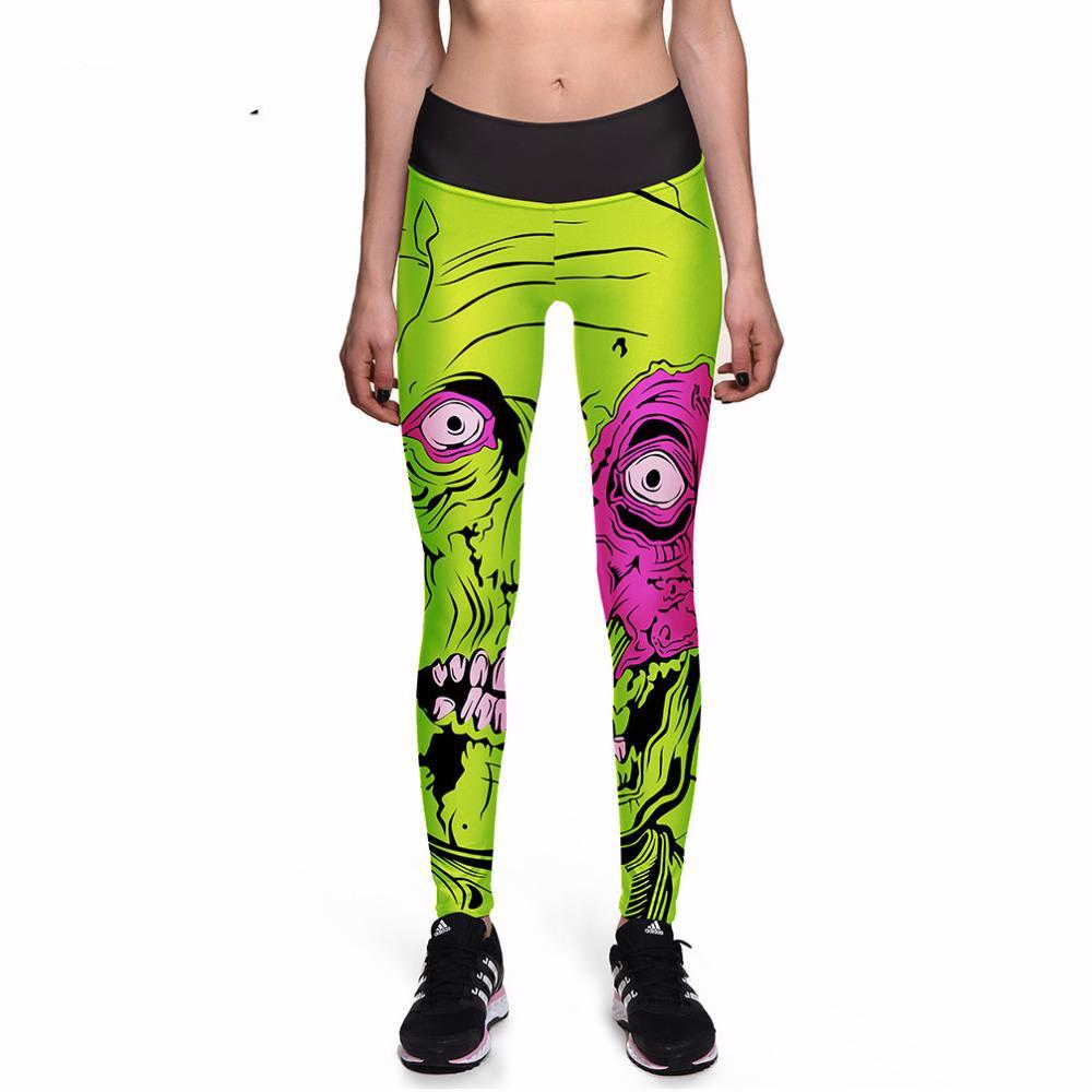 Monster Mash Halloween Leggings