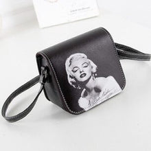 Faux Leather Marilyn Monroe Bag