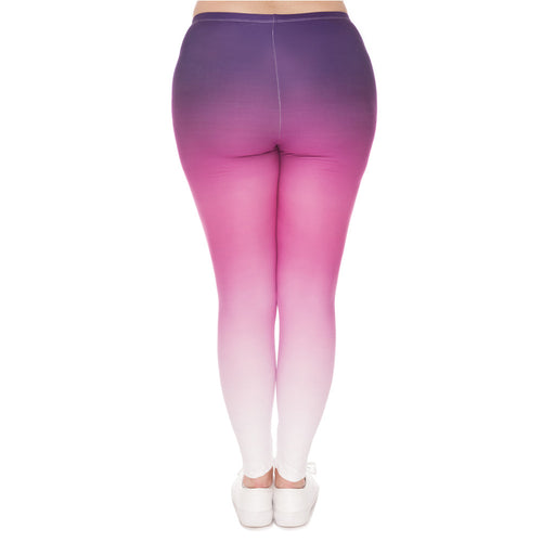 Purple Pink Ombre - Plus Size