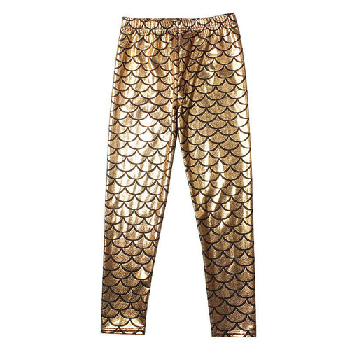 Gold Shimmer Mermaid Kids