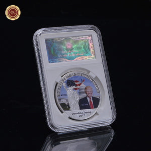 Silver/Gold 45th Presidential Collectible Coin