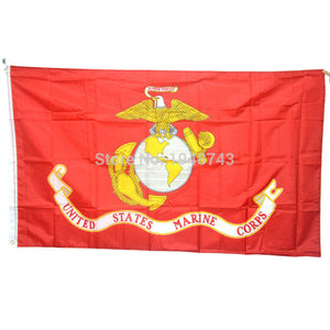 United States Marine Corps Flag (3x5 FEET)