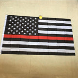 Thin Blue Line Flag (3x5 FEET)