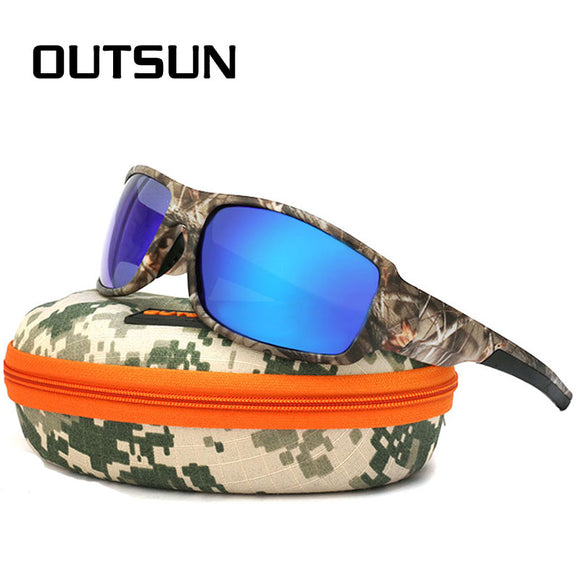 Camouflage Sporting Sunglasses