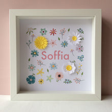Personalised 3D Flower Frame