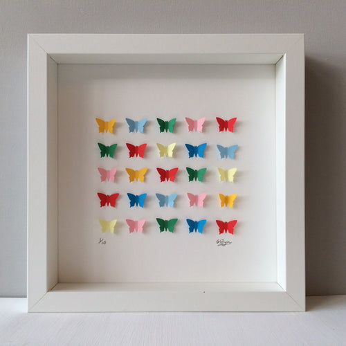 Rainbow Butterflies