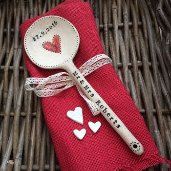 Personalised Ceramic Love Spoon