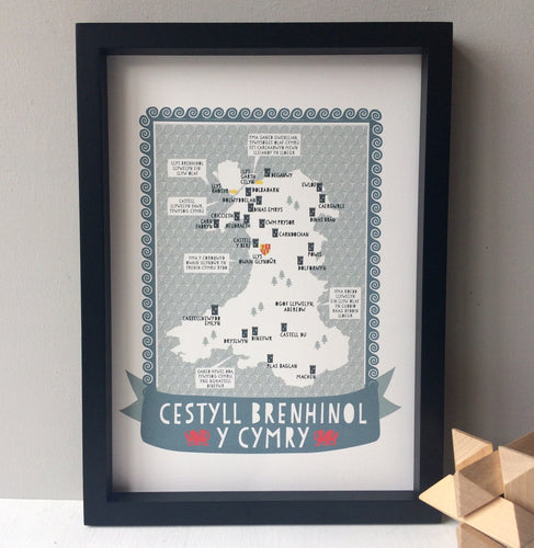 Welsh Native Castles Print
