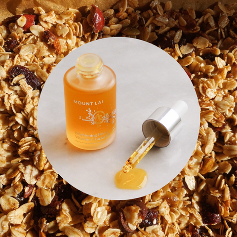 Brightening Berry Vitamin C Facial Oil, with Goji Berry