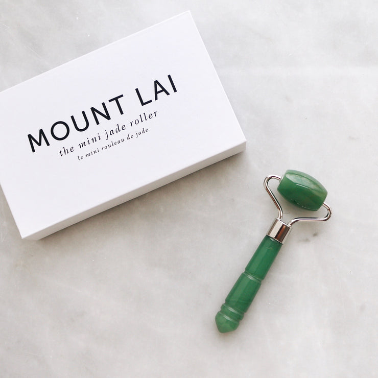 The De-Puffing Mini Jade Roller