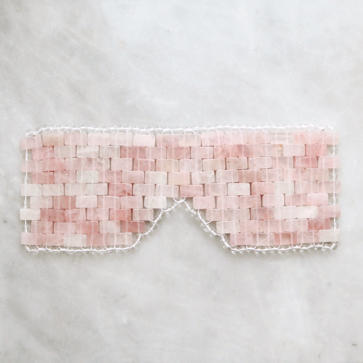 The Rose Quartz Eye Mask