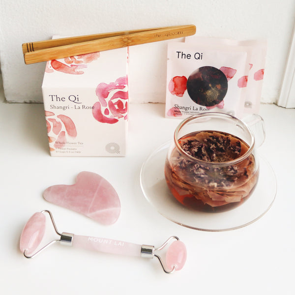 The Qi x Mount Lai - Self Love Rose Gift Set