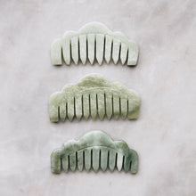 The Jade Massaging Comb