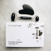 The Black Obsidian Facial Spa Set