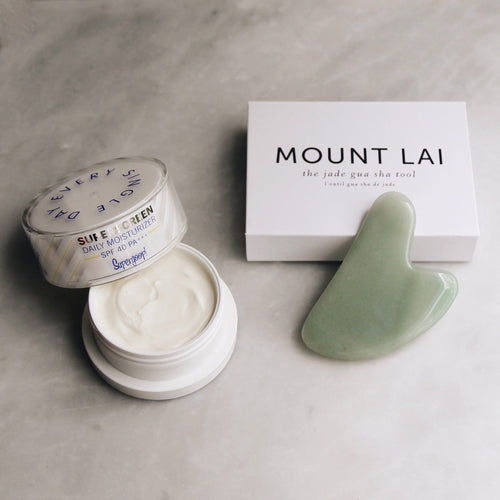 Supergoop! x Mount Lai Summer Selfcare Set