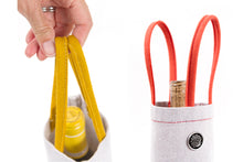 CANVAS BOTTLE BAG