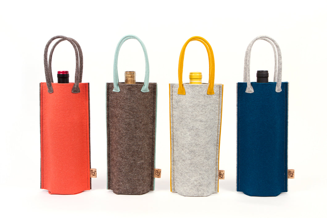 FELT BOTTLE BAG
