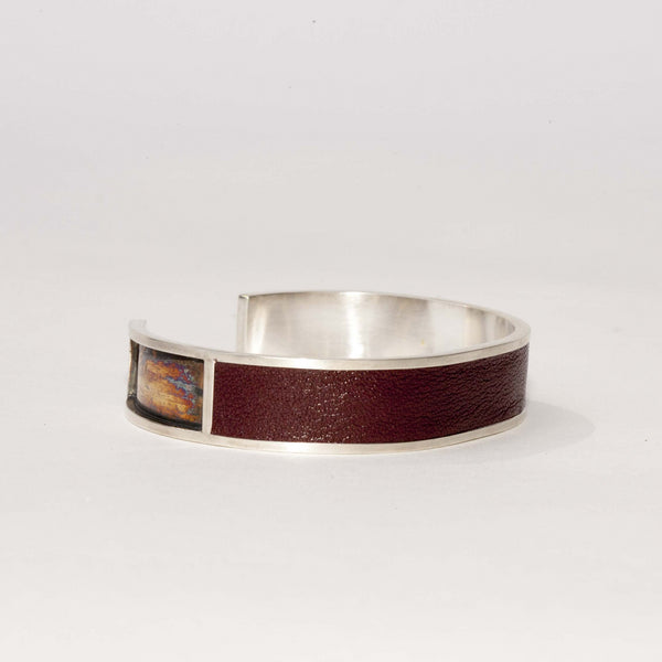 LEATHER & GOLD CUFF NO. 2