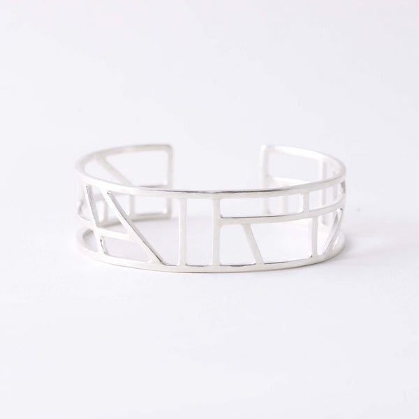 POLISHED GEOMETRIC CUFF