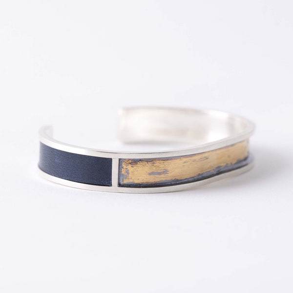 LEATHER & GOLD CUFF NO.1