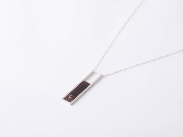 ROSEWOOD & CITRINE NECKLACE