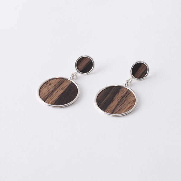 ZEBRAWOOD EARRINGS