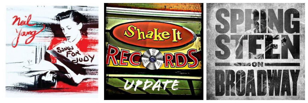 Shake It Update 12/14/18: Springsteen on Broadway; Neil Young on Vinyl; Shake It Gift Cards